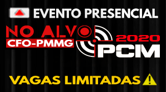 No Alvo PCM- CFO MG 2020